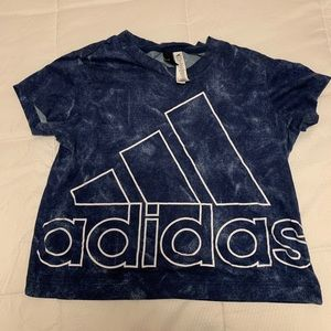 Adidas cropped t shirt